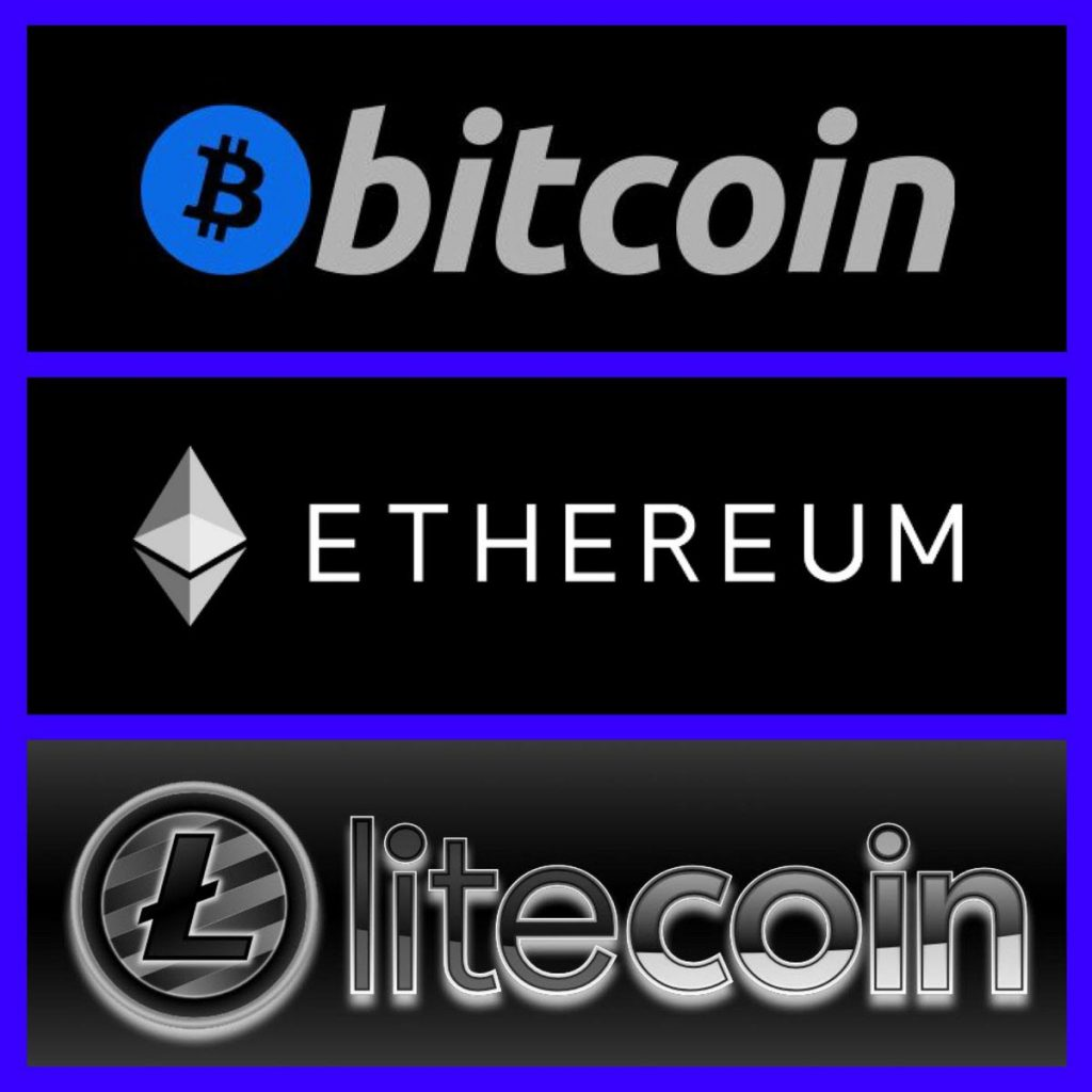 Bitcoin Ethereum Litecoin Accepted Here
